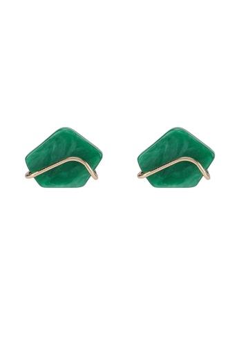 niko and ... green Acrylic Earrings C148FAC15F7385GS_1