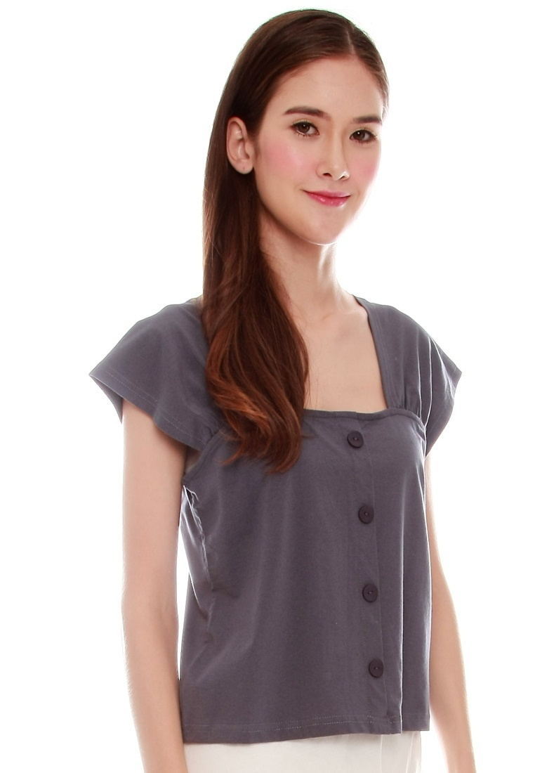 JOVET Grey Dark Top Way Two 4xrw4pSq