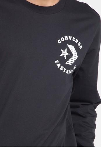 Jual Converse Fast Break Long Sleeve T-Shirt Original  c6cc0585a2