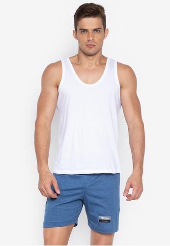 Walker Underwear multi Sando De Hilo And Drawstring Shorts 7C329US7CC86E1GS_1