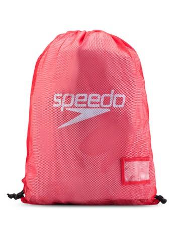 網眼抽繩後背包、 包、 運動Speedo網眼抽繩後背包最新折價