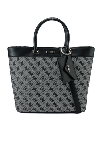 Guess black Sosie Girlfriend Tote Bag BB18DAC65E8CB7GS_1