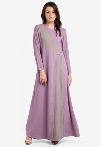 JubahSouq purple Laveenia Dress JU399AA0RH7DMY_1