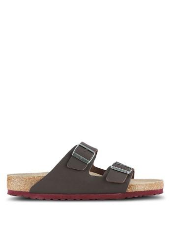 Birkenstock brown Arizona SFB BF Sandals BI090SH0RTJ5MY_1