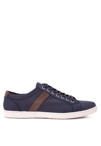 H2Ocean blue Mens Sneakers Lace up H2527SH0J9TYPH_1