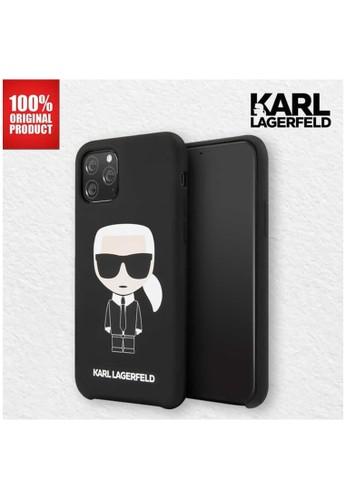 KARL LAGERFELD black Casing iPhone 11 Pro Silicone Karl Full Body Karl Lagerfeld - Black 51A49ES9D8136CGS_1