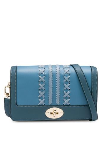 ELLE blue Gabriel Crossbody Bag 0990DAC66D3A24GS_1