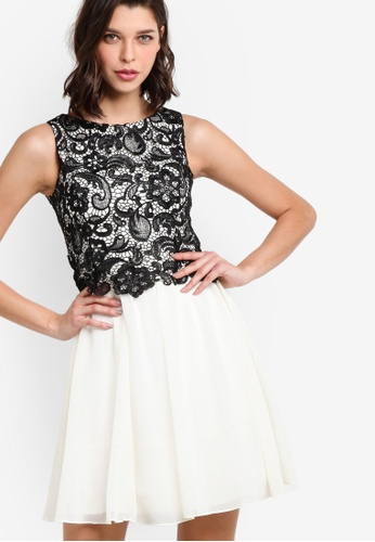 Dorothy Perkins black Showcase Mono Melanie Dress DO816AA98NNHMY_1