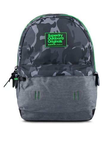 Superdry black Camo Inter Montana Backpack 08962ACB6F266DGS_1