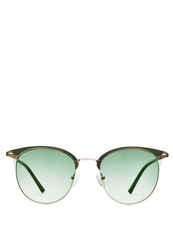 87d45e99984 Buy Carin Carin Henie C2 Half-Frame Sunglasses Online on ZALORA Singapore