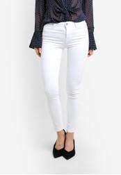 Mango white Skinny Elektra Jeans MA193AA0RXT0MY_1