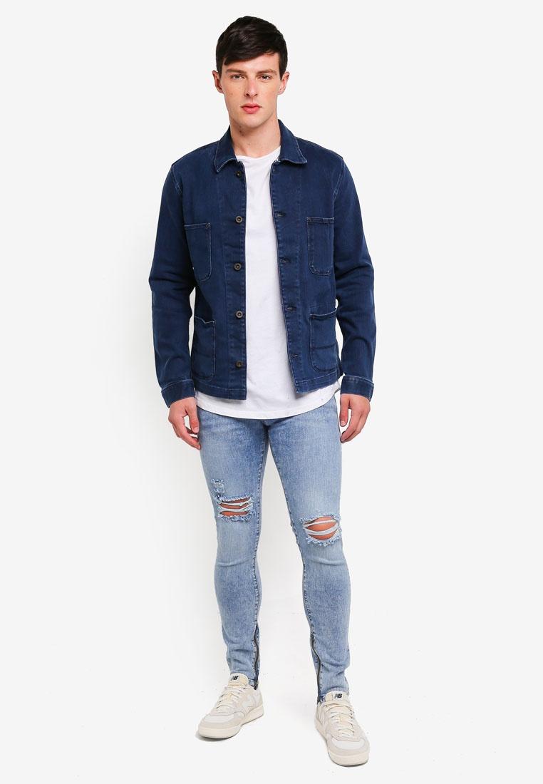 Blue Jeans Jack Liam Original amp; Denim Skinny Jones W88OP