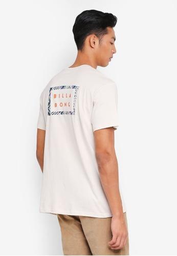 Billabong 白色 休閒印花T恤 F82BAAA6552E9BGS_1