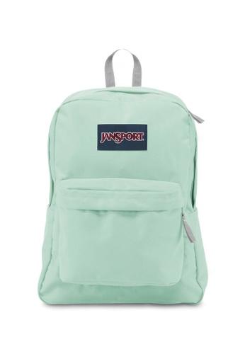 3f645bbea0 Jansport green Jansport Superbreak Brook Green Backpack - 25L  E225FAC9E06124GS 1