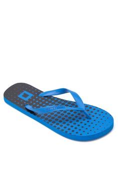 Men's Printed Flip Flops