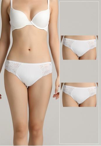 6dcbbfdb6c Tani white Tani Modern Lace Women s Panty 59213 - 2 Pack B3527US57DFF36GS 1