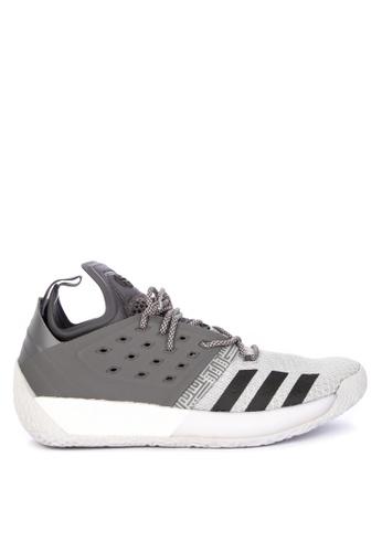 adidas grey adidas harden vol. 2 D255BSHC4172F4GS_1