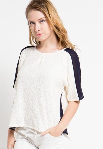 FAMO white Famo Girls Relaxed Shirt FA263AA50QFDID_1