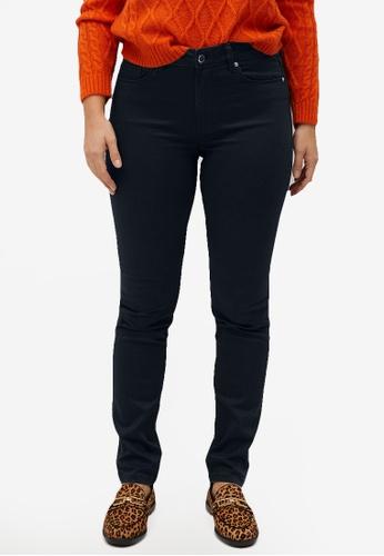 Violeta by MANGO 黑色 Plus Size Slim Valentina Jeans 2434AAAB5DC1C2GS_1