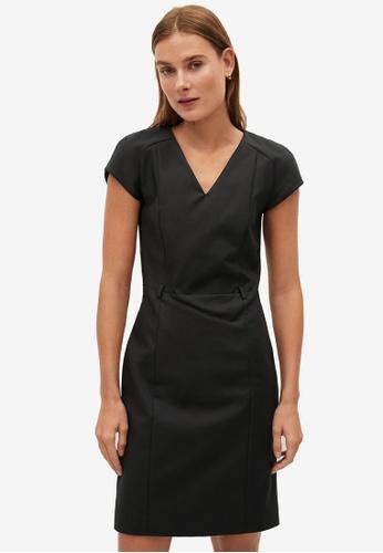 Mango 黑色 Tailored Short Dress 41FECAA3A03E04GS_1