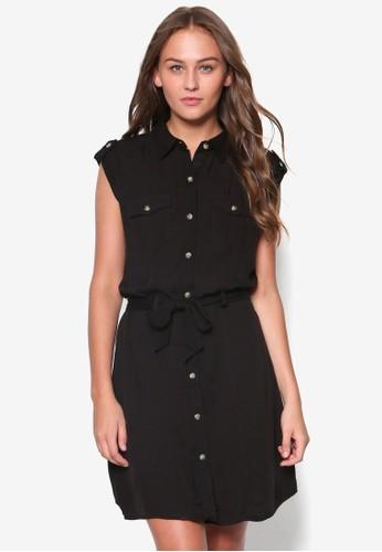 無袖襯衫式洋裝, 服飾esprit au, 洋裝