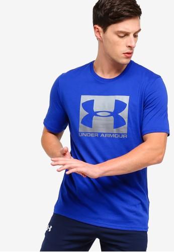 Under Armour blue UA Boxed Sportstyle Short Sleeve Tee FAFAAAA80CC2D8GS_1