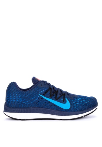 Nike blue Nike Air Zoom Winflo 5 Shoes B17A4SH8E20E4DGS_1