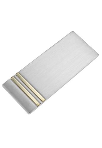 CUFF IT gold Brush Silver Two Tone Money Clips CU047AC82ZHTHK_1