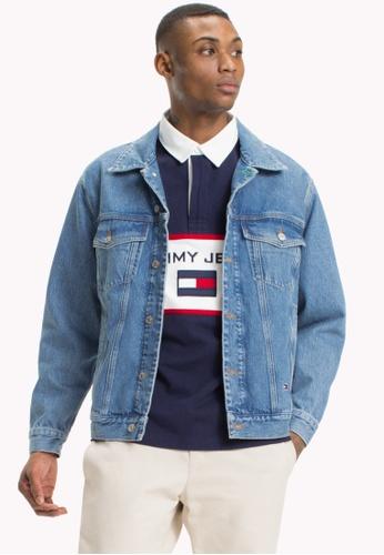 535e9da6 Buy Tommy Jeans TJM 90s LOGO DENIM JACKET Online on ZALORA Singapore