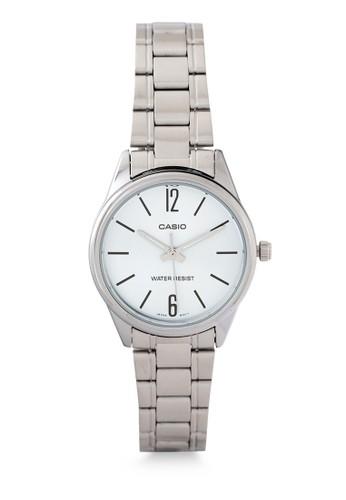 Casio silver Casio Jam Tangan Wanita - Silver White - Stainless Steel - LTP-V005D-2B FE015AC9F8A548GS_1