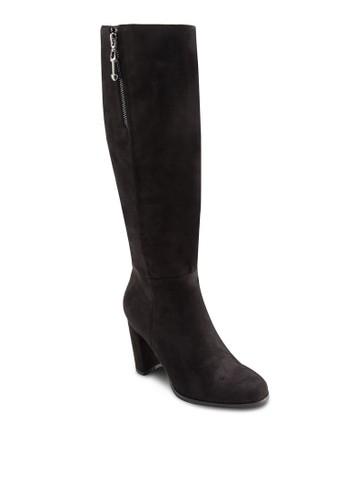 拉鍊高跟zalora鞋子評價高筒靴, 女鞋, 鞋