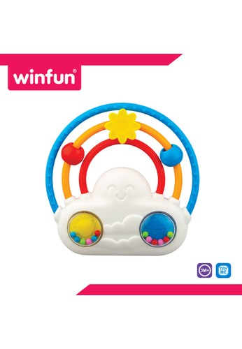 Winfun multi Glow 'N Slide Rattle with Melodies - Rainbow 96A18THEE3D542GS_1