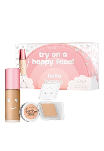 BENEFIT Try on a happy face! 04 Soft Foundation starter foundation & concealer set (Apr 2022 Expiry) 38E99BEAE7A5BBGS_1