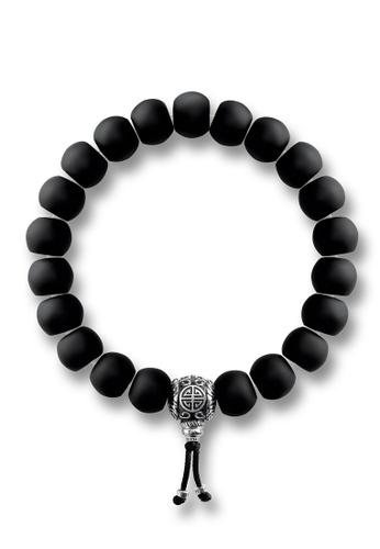 "Thomas Sabo black Bracelet ""Power Bracelet Ethnic Black"" TH376AC0GMSASG_1"