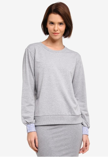 Modstrom grey Farah Sweater 58830AA78FB531GS_1