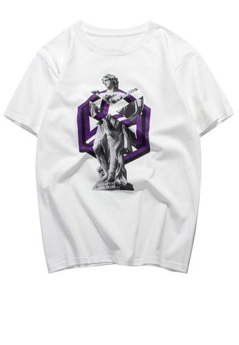 HAPPY FRIDAYS Trend Printed Short T-shirt RS1190 E486DAA20D2D87GS_1