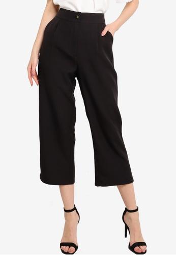 ZALORA WORK black Straight Leg Trousers 8F21FAA064CE8BGS_1