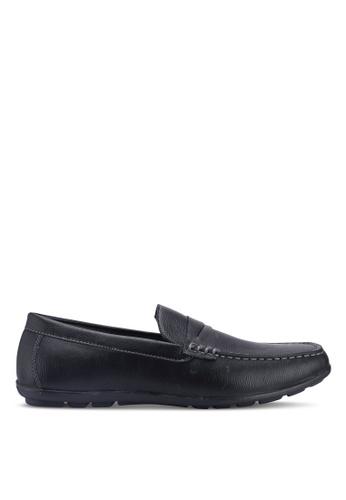 Bata black Slip On Loafers FC0BESH5F424C7GS_1