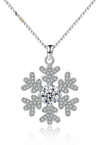 LYCKA silver LPP88077 S925 Silver Necklace 9771EACE93A980GS_1
