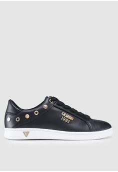 94877204a6da Guess black Active Sneakers With Stud Details FF894SH8029645GS 1