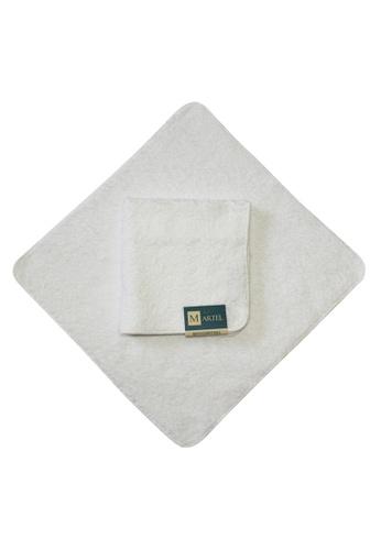 Martel white Martel Basic Face Towel 62583HL6A69FEFGS_1
