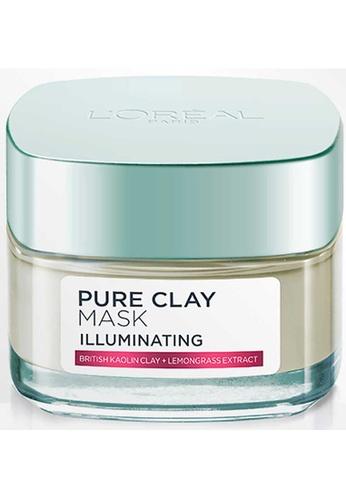 L'Oréal Paris L'Oréal Paris Illuminating Pure Clay Mask 50ml E103BBEE7E6E4AGS_1
