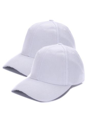 67b4e34f4 Set of 2 Plain Baseball Cap
