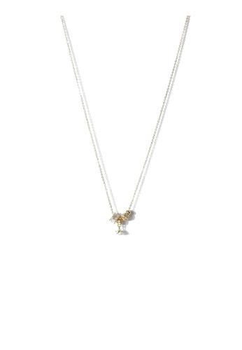CLOVER gold Clover Astra Necklace 30361AC96691D6GS_1