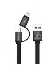 PINENG PN-304 2 in 1 Data and Charging Cable 1M for Samsung/iPhone