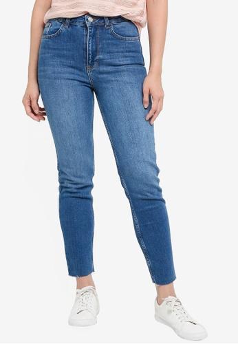 KOTON blue Slim Denim Jeans 0CC04AAAF1CE0CGS_1