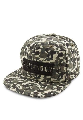 印花平簷鴨舌帽, 飾品配件, 鴨舌esprit hk store帽