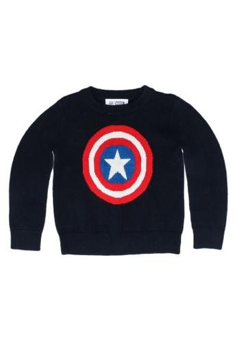 GAP blue Marvel Sweater 742E1KAA1AB228GS_1