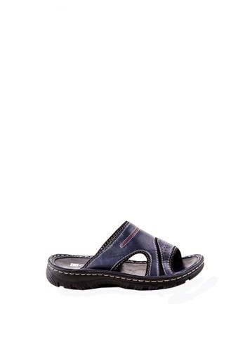 Otto navy Slide Sandals OT407SH0JRVUPH_1