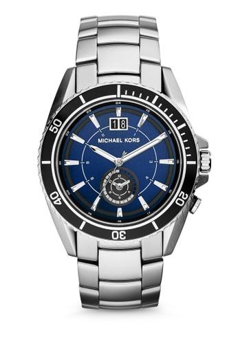 MICHAEL KORS silver Jetmaster Analog Watch MI248AC0K94OPH_1